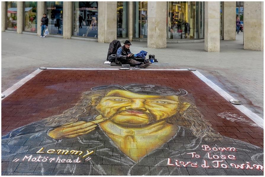 Platz 51 - Adolf Wiehenkel - Straßenmaler