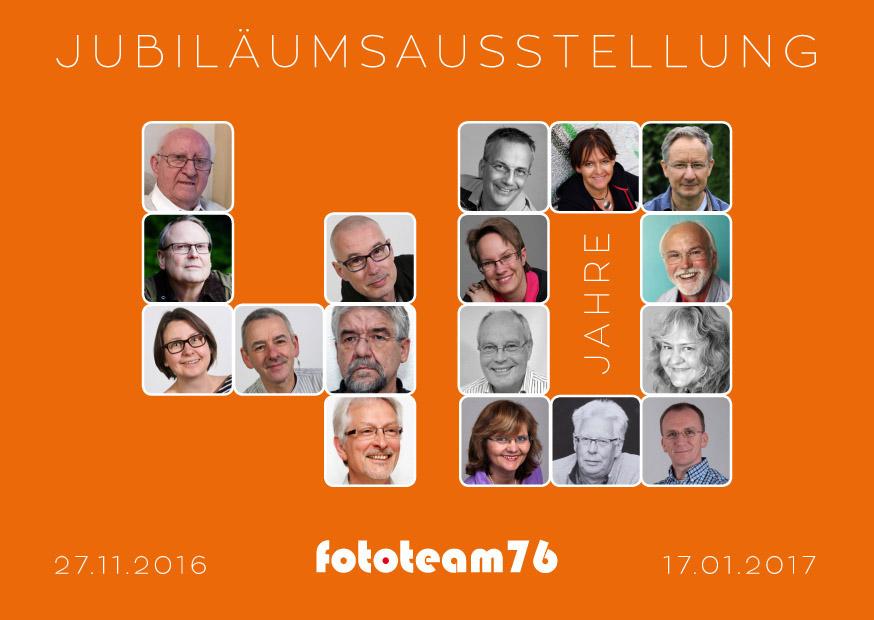 40 Jahre Fototeam 76 - Einladung