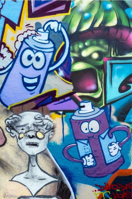 Platz 81 - Horst Wienberg - Grafitti