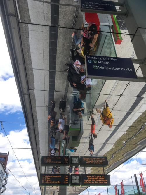 Platz 16 - Pia Dumke - Stadtbahn Haltestelle