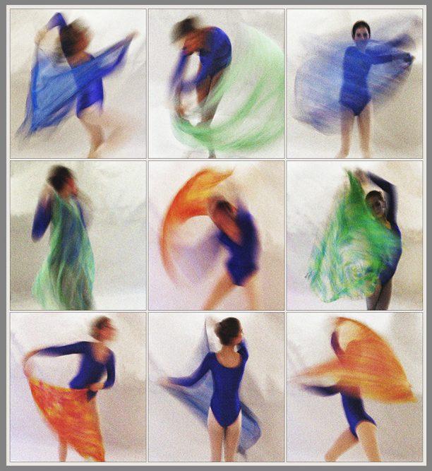 Tanz mit Tüchern