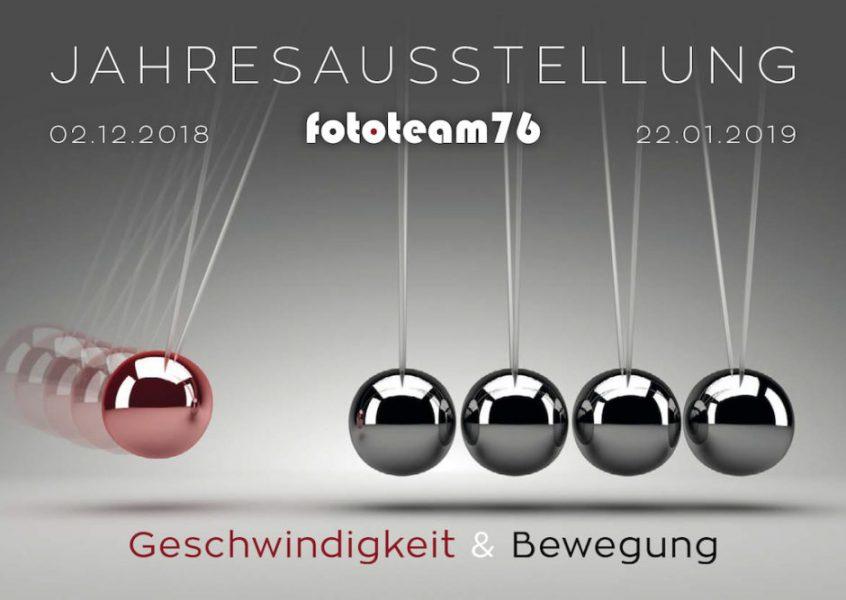 Einladung Jahresausstellung 2018