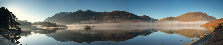 Crummock Water Panorama
