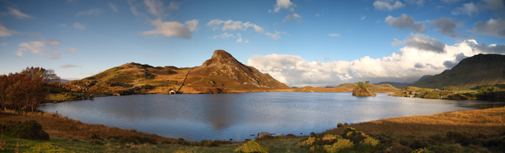 Llynnau Cregennen Panorama