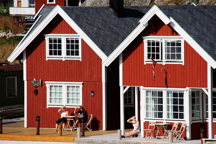 Norwegen Idylle