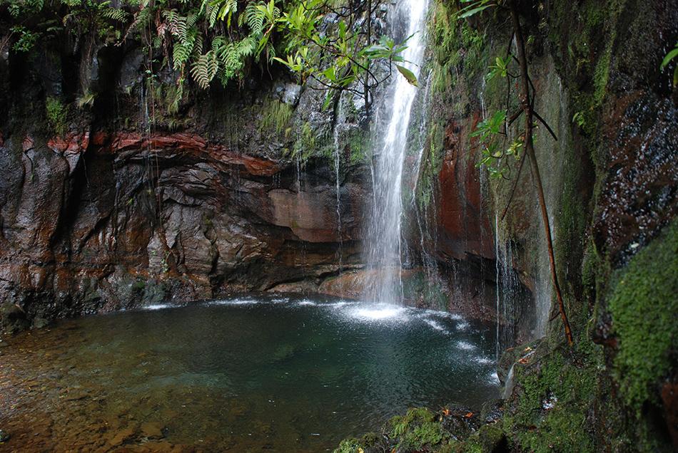 Wasserfälle Madeira