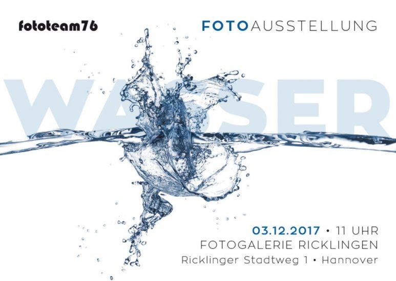 Einladung Jahresausstellung _Wasser