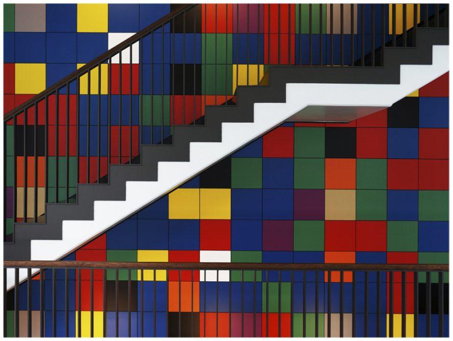 Platz 30 - Hans-Walter Schaper - Weiße Treppe
