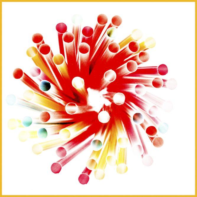Platz 41 - Hajo Schumacher - Colored Straws