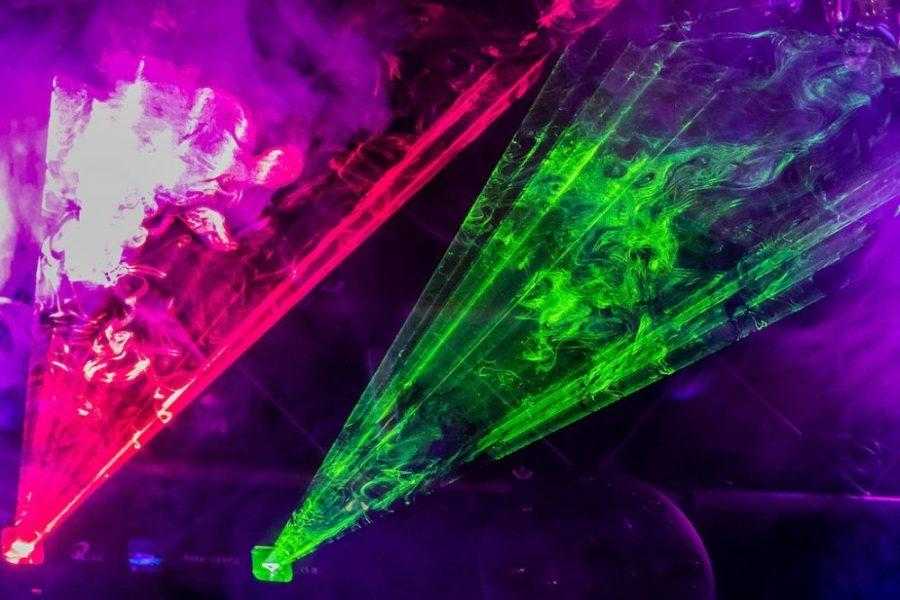 Platz 48 - Volkhardt Lembcke - Lasershow